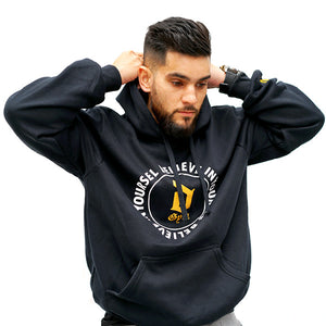 Derrimut 24:7 Gym 10 Year Commemoration Hoodie - Black