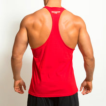 Load image into Gallery viewer, Derrimut 24:7 Gym Men's T-Back Singlet - Red