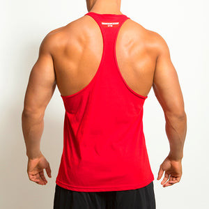 Derrimut 24:7 Gym Men's T-Back Singlet - Red