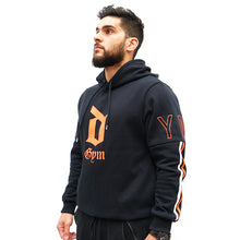 Load image into Gallery viewer, Derrimut 24:7 Men's Striped Hoodie - Orange
