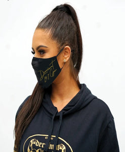 "Derrimut ""Limited Edition"" Face Mask - Gold"
