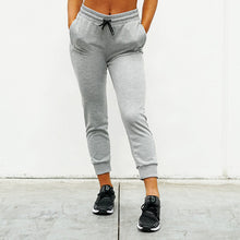 Load image into Gallery viewer, Derrimut 24:7 Ladies Believe in Yourself Track Pants - Grey