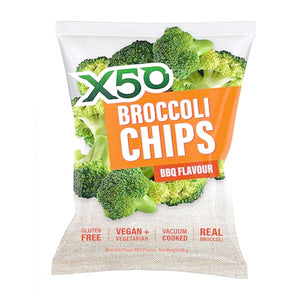X50 Broccoli Chips 60g – Pack of 10
