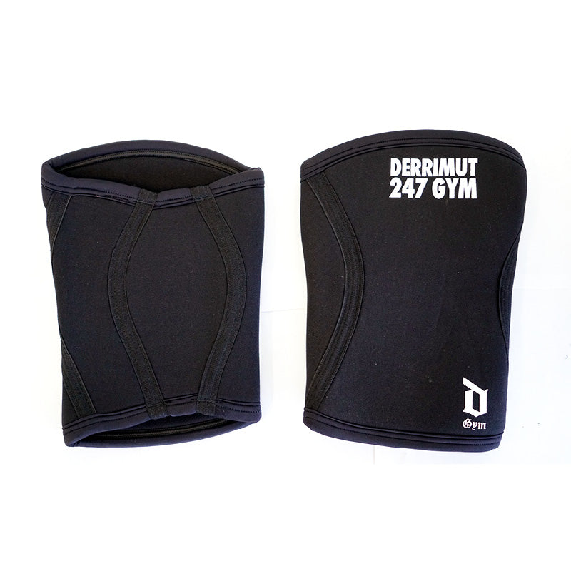 Derrimut 24:7 Gym Premium Knee Sleeve - Black