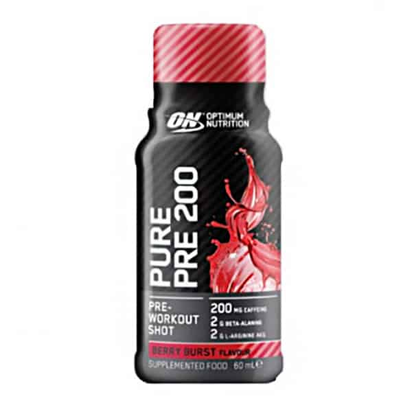 Pure Pre 200 Preworkout Shot – Individual Bottles