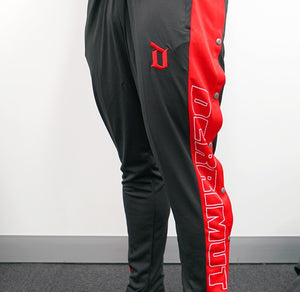Derrimut 24:7 Gym Men's Retro Snap Pants - Black