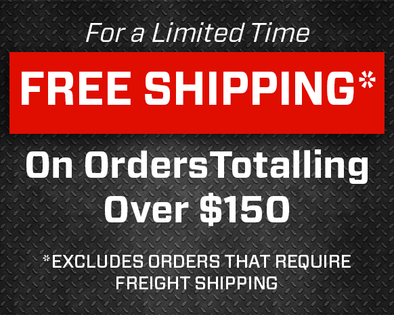 Spring Special-Free Shipping on Orders over $150*