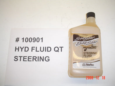 FLUID-HYDRAULIC STEERING SALTWATER (1-9T) '05-'14 (option XStar)