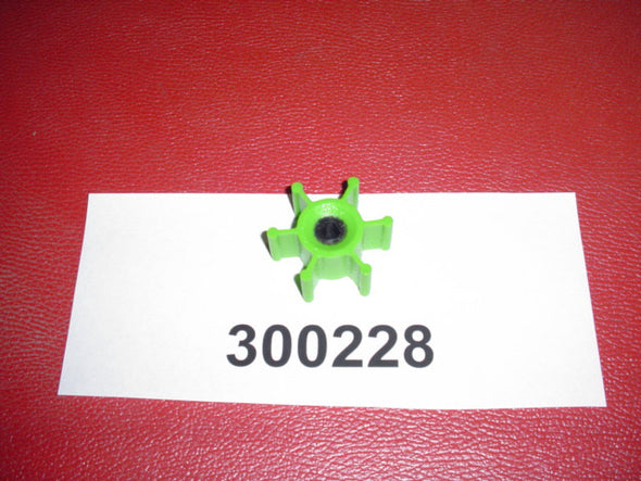 JABSCO GREEN BALLAST PUMP IMPELLER