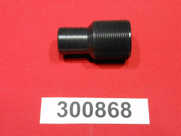 "FITTING-ADAPTER PIPE 1.5 PIPE T0 1.25"" BARB STR. FOR SS WATER INTAKE"