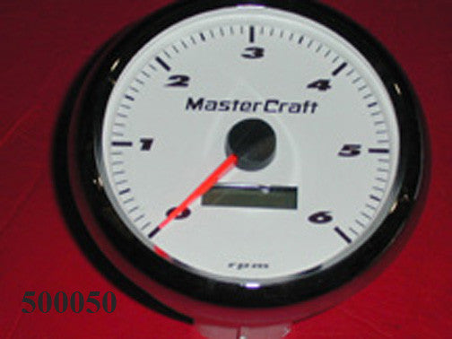 GAUGE-TACH/HOUR METER WHITE 190/205SD '00-'03,PS/X2/X5/X7/X9/X10/X30 '00-'04