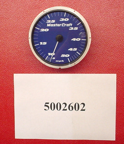 "GAUGE-SPEEDO BLUE 5"" MS200/210/230/245 2006 PRIMARY"