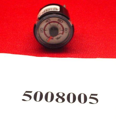 "GAUGE-OIL 2"" WHITE '08 X2/X14/X15/X30/X45/XS/SS/280,OPTION MS/214/CSX"
