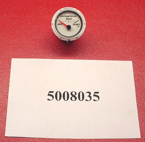 GAUGE-TEMP 2'' WHITE '08 190/197/X7