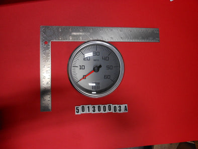 "GAUGE-SPEEDO 5"" SILVER MS / XSERIES '13-'14"