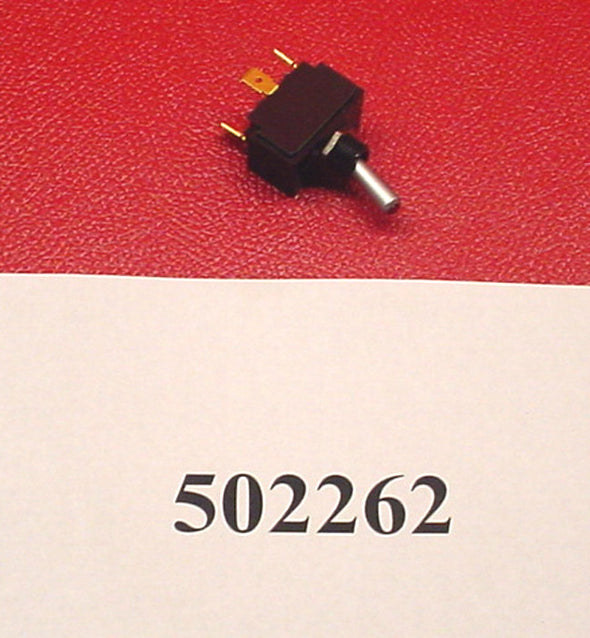 MASTERCRAFT TOGGLE SWITCH, ON-OFF, RED, 3 PRONG