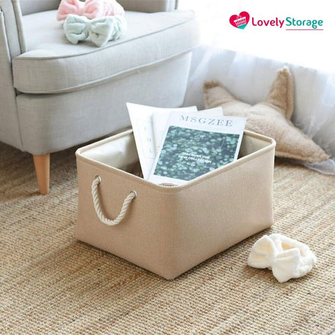 SPACE-SAVER™ Storage Baskets | Pack of 3 book storage box fabric storage boxes under bed storage boxes really useful storage boxes toy storage bag bag storage ideas kids storage basket book basket space-saving