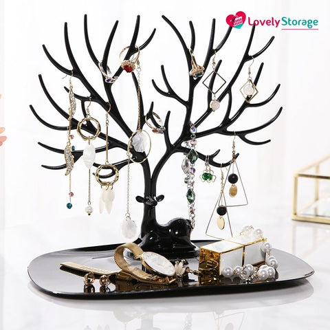 ELEGANT-TREE Jewellery Holder earring display stand uk necklace stand