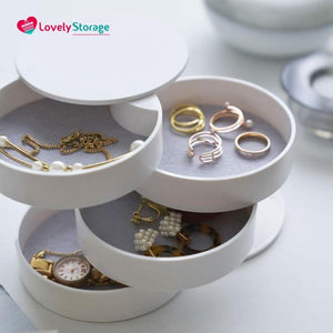 JEWELLERY-TOWER Luxury Jewellery Box jewelry display travel rings jewelry gift boxes tree jewelry jewellery organiser - Lovely Storage