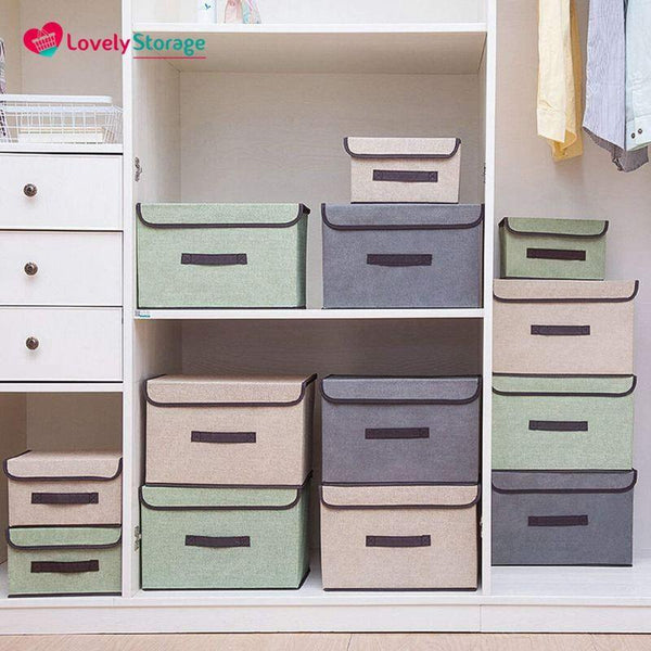 MULTI-ORGANISER Storage Boxes book storage box decorative storage boxes cube storage boxes toy storage bag space-saver student storage box fabric storage boxes with lids space-saving - Lovely Storage