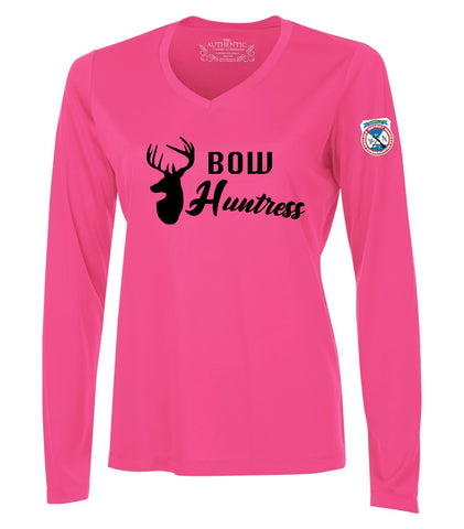 Ladies Bow Huntress Tee