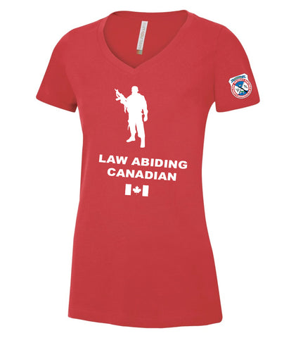 Ladies Law Abiding Canadian Tee