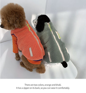 Warming Day fleece vest
