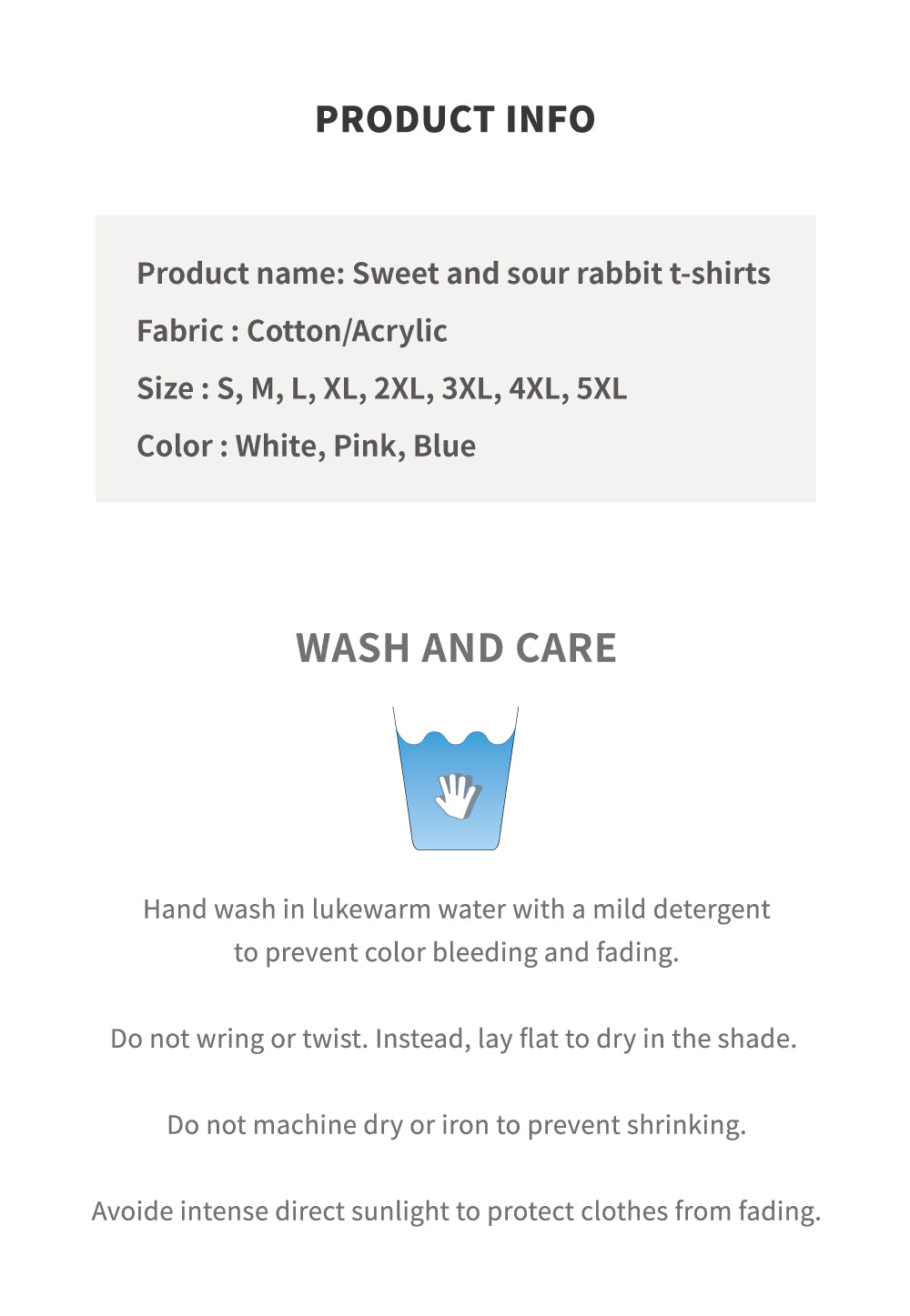 Sweet and Sour Rabbit T-shirt