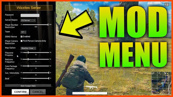 PUBG Modded account (+ Mod Menu)-Supreme Wizardry
