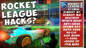Rocket League Modded account (+ Mod Menu)-Supreme Wizardry
