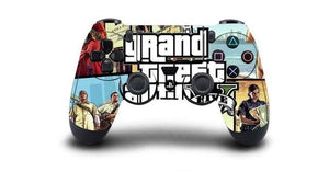 1pc Grand Theft Auto V GTA 5 PS4 Skin Sticker Decal For Sony PS4 Playstation 4 Dualshouck 4 Game PS4 Controller Sticker