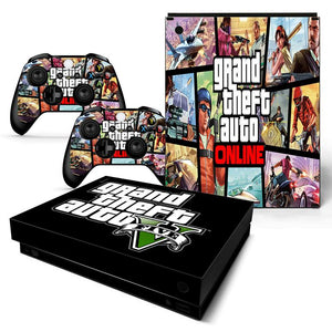 GTA 5 Five Game for XBox One x Decal Wrap Skin sticker