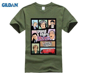 Grand Theft Auto - Grand Theft Brexit T-shirt-Supreme Wizardry