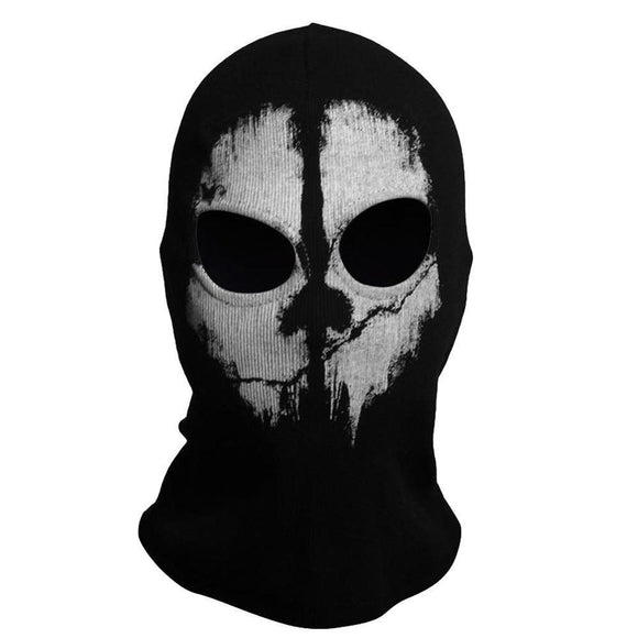 Balaclava Hood / Face COD Ghost Skull Mask-Supreme Wizardry