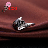 New Arrival Cute Shiny Cubic Zirconia Rings Sterling Silver