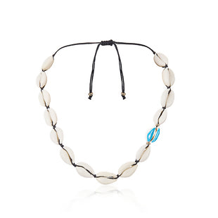 Shell Ocean Jewelry Necklace Blue