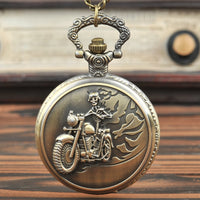New Design Motorcycle Pocket Watch with waist chain