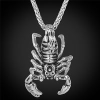 Scorpion Statement Necklace & Pendant