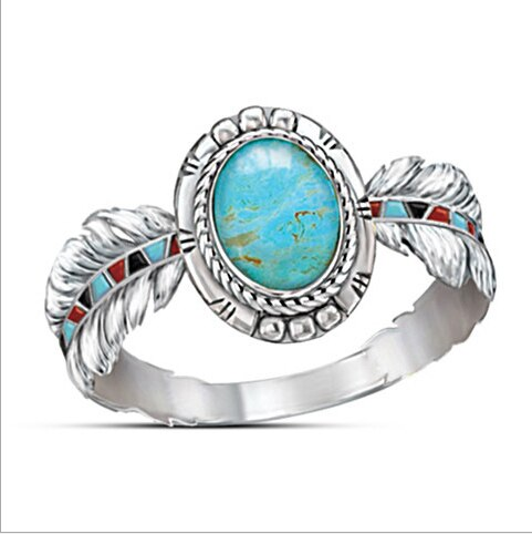 """Sedona Sky"" Ladies Ring Size 8 Only"