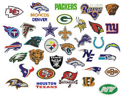 National Football League Cotton Fabrics on bolts