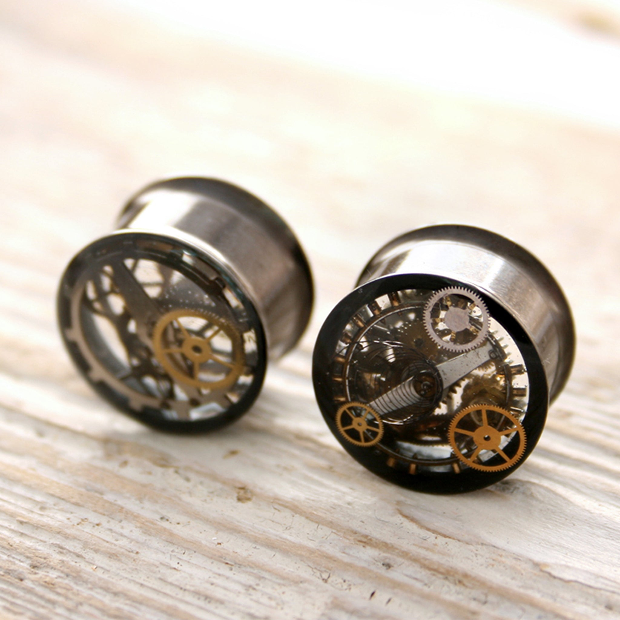 gauge & plug earrings