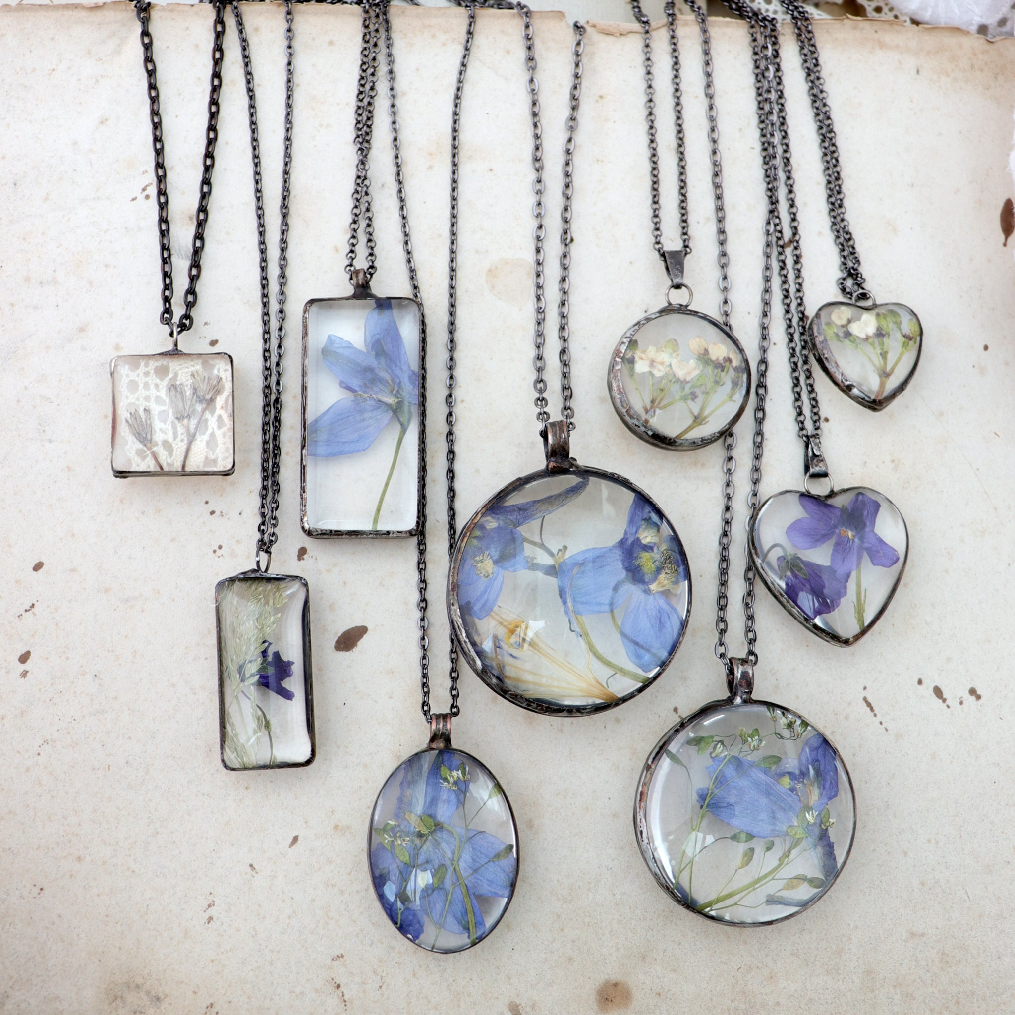 Stained Glass Jewellery
