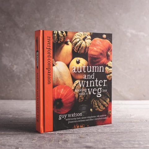 autumn vegetable cook book from Riverford