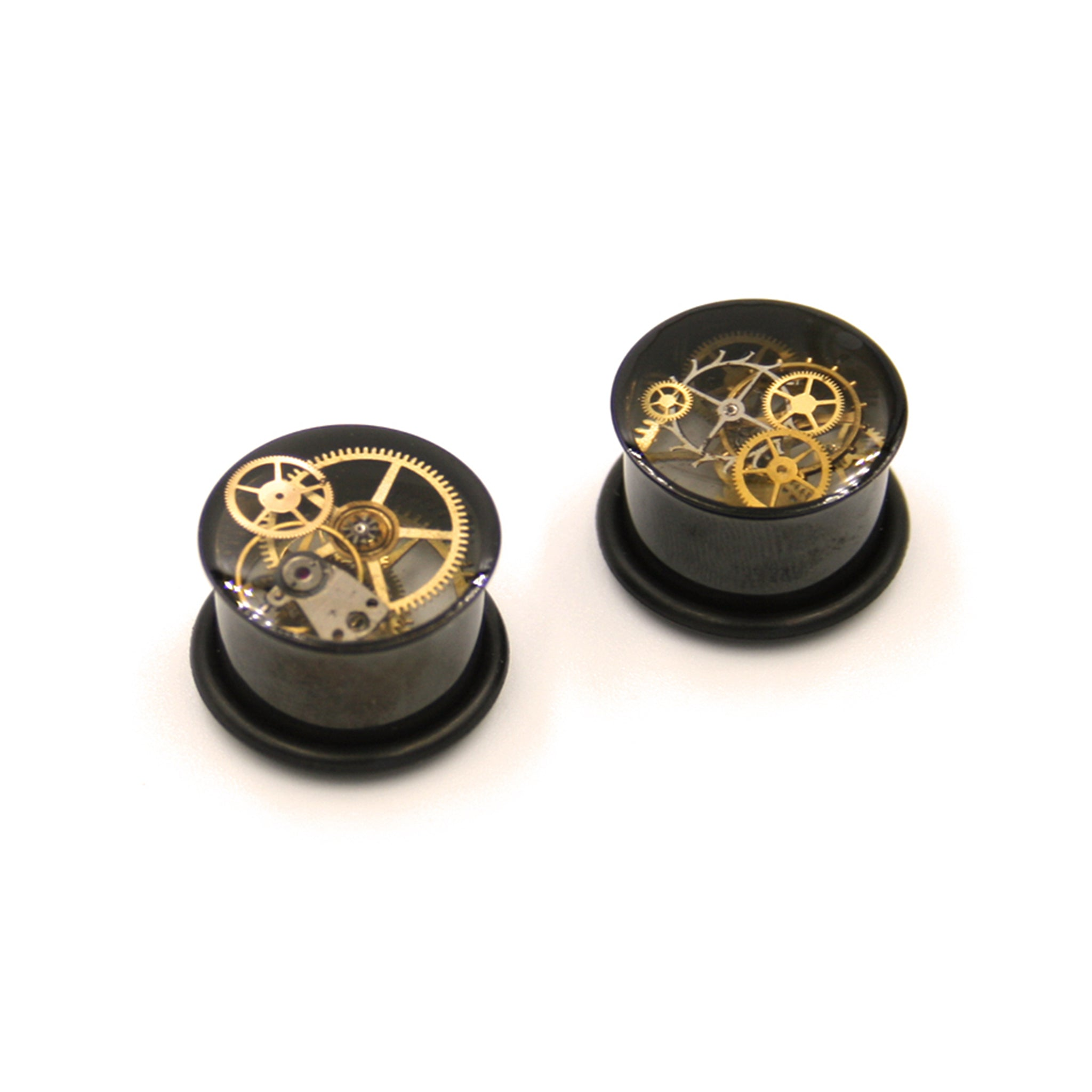 12mm o-ring steampunk ear gauges