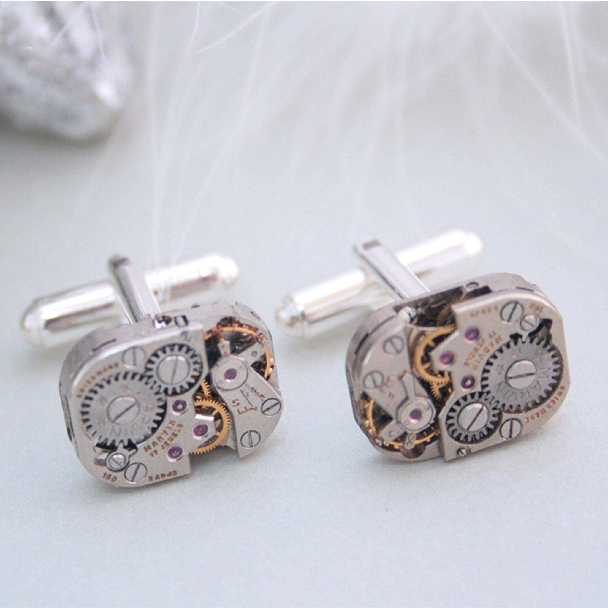 Cool Cufflinks for Watch Lovers