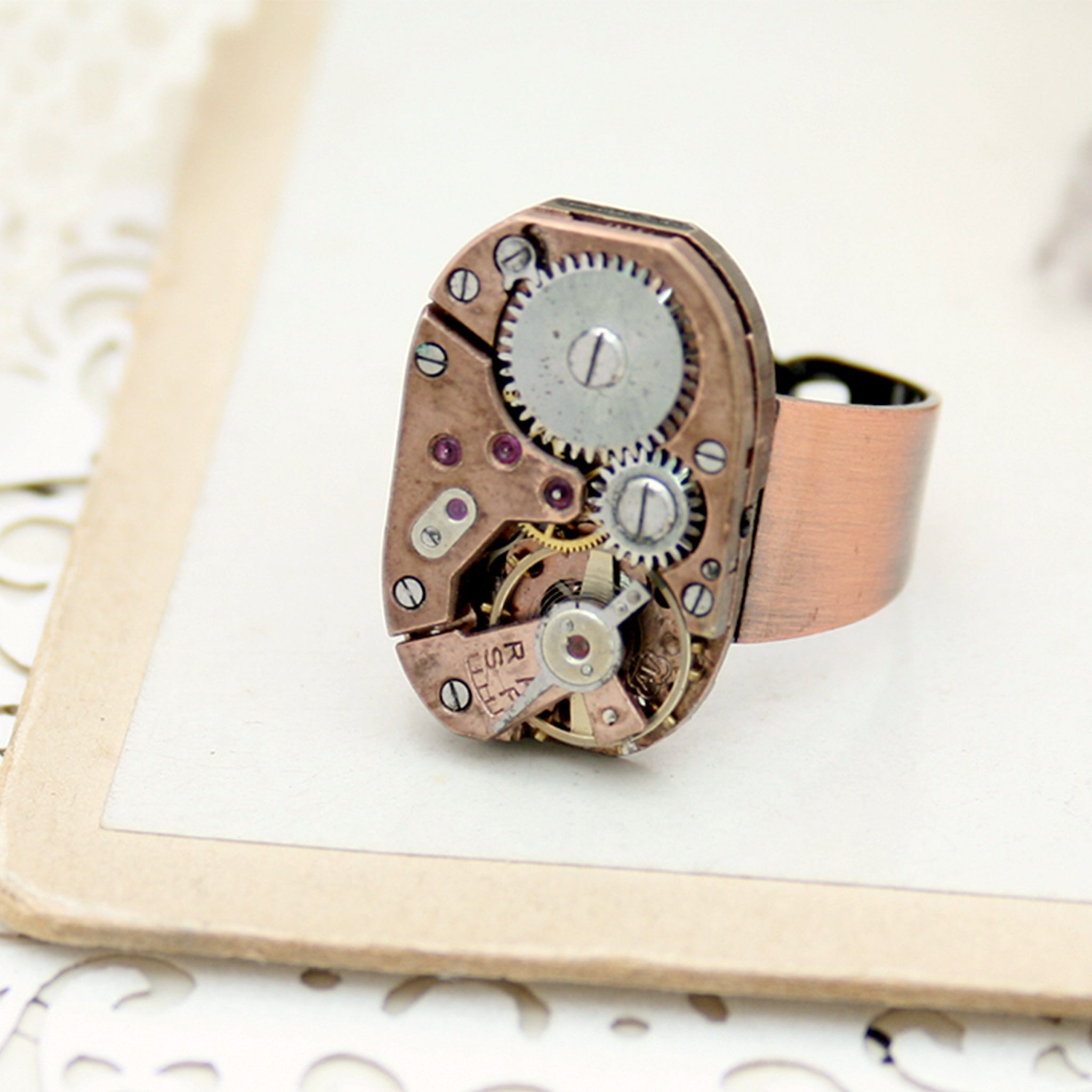 Copper Steampunk Watch