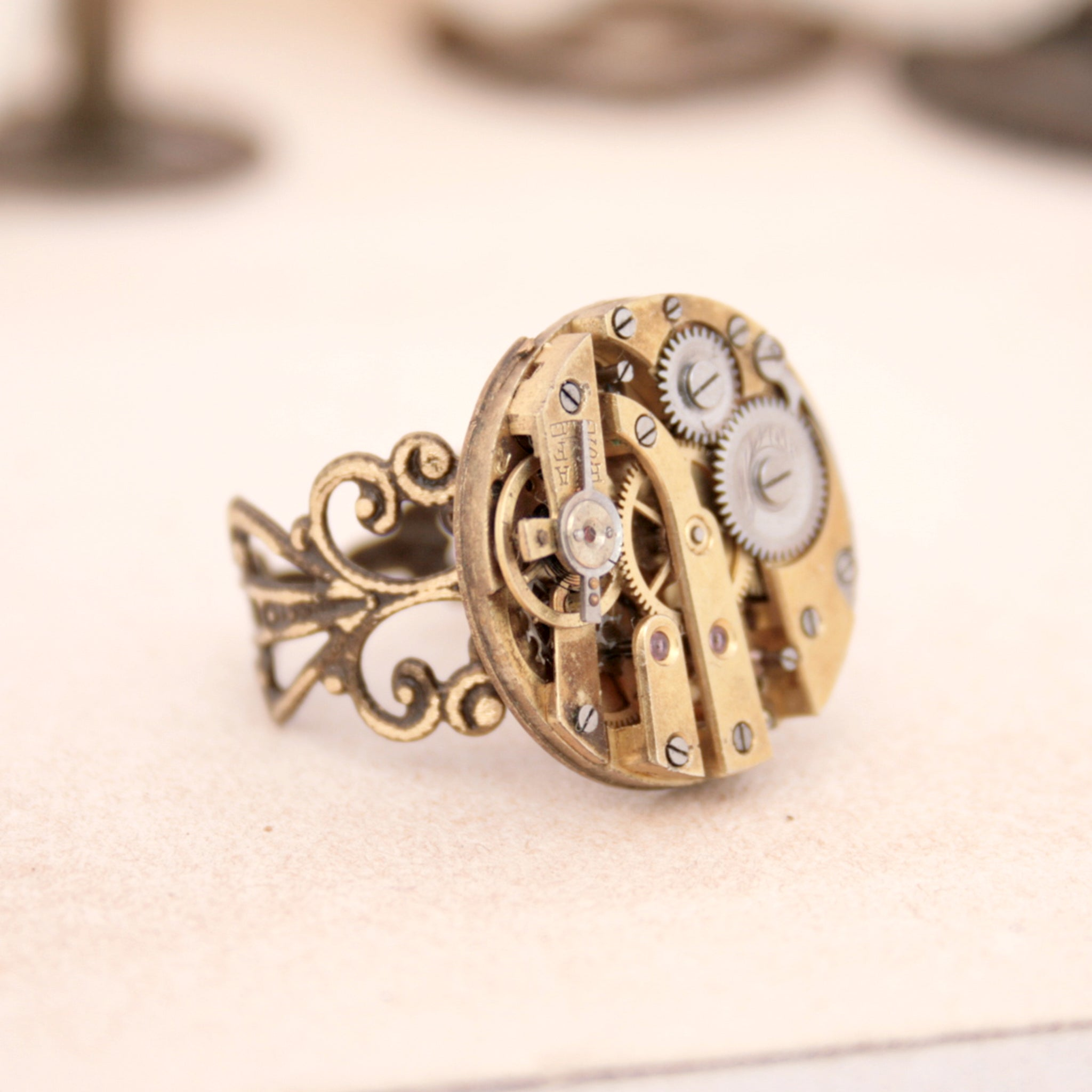 Gothic Ring in Gold