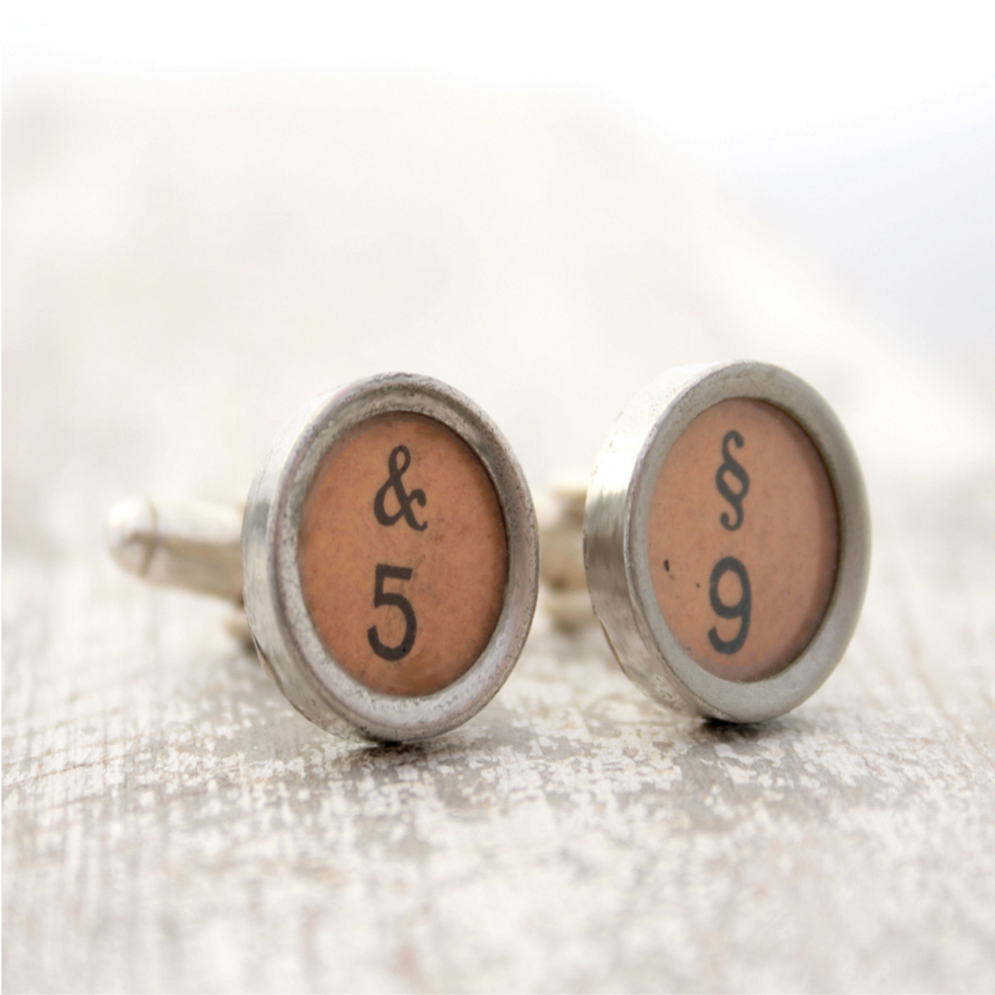 Typewriter Key Cufflinks