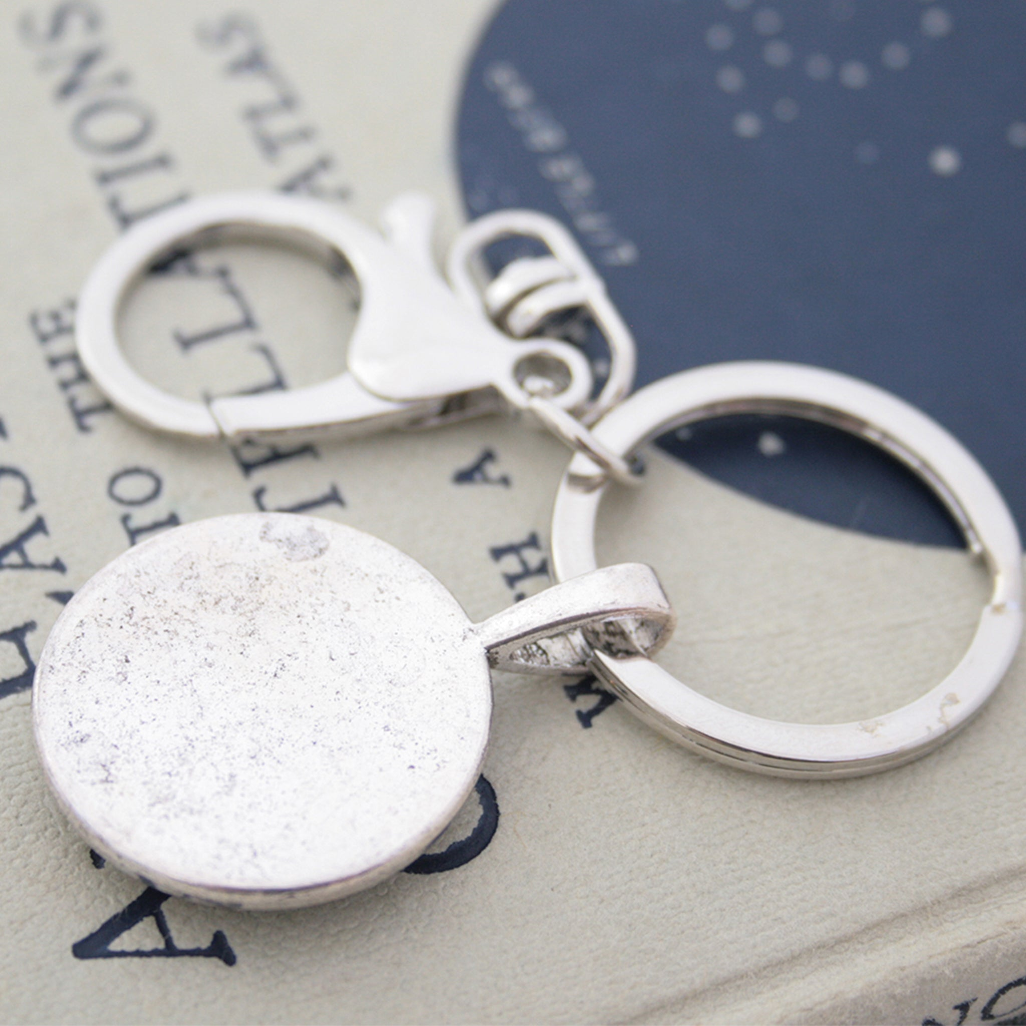 Novelty Keyring with watch work