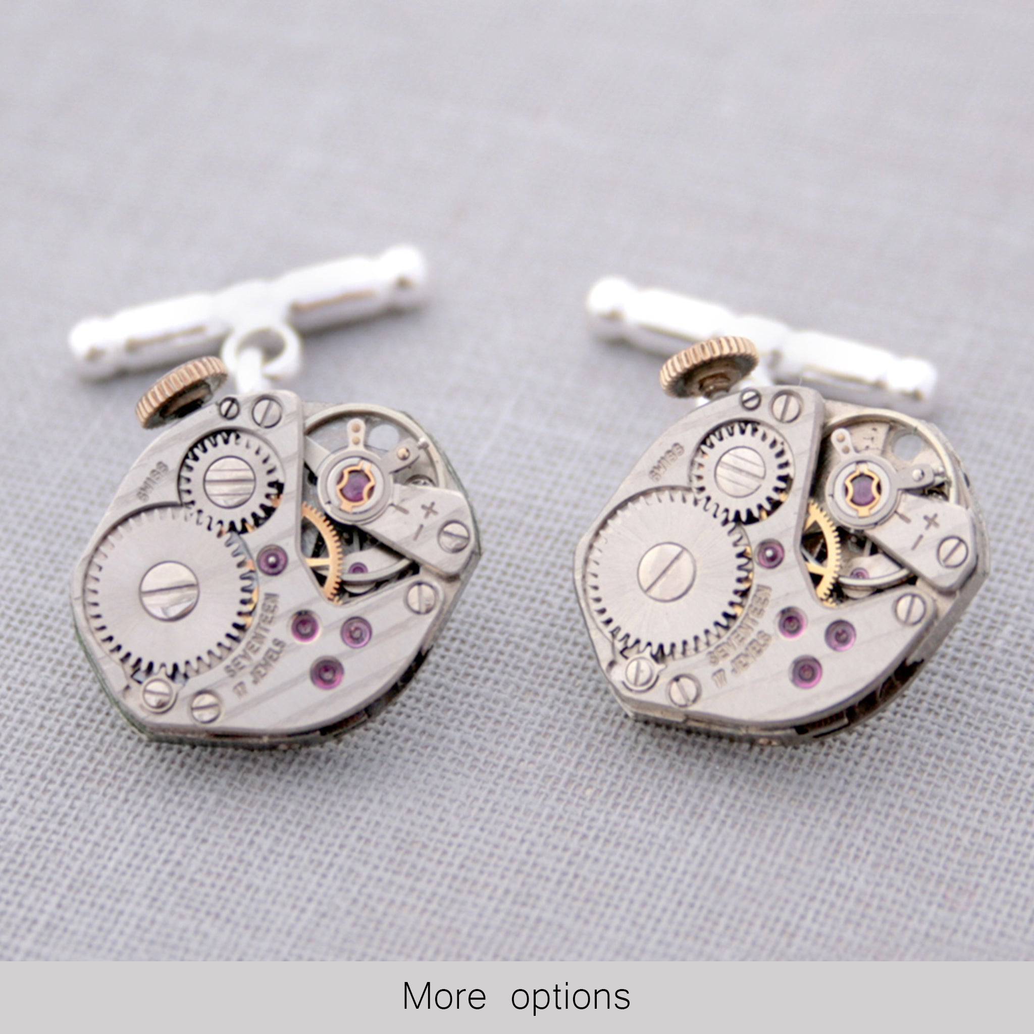 Watch Cufflinks on Chains